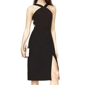 """BCBGMaxAzria """"Ruth"""" Cutout Black Dress"""